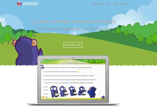 Microsite J'accorde