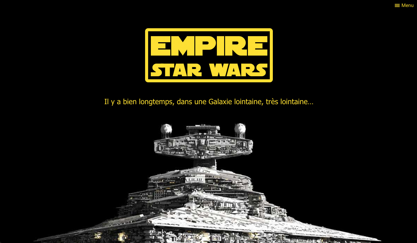 Empire Star Wars